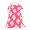 Robe d'été fleurie - Meubles Animal Crossing New Horizons