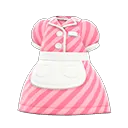 Robe de serveuse années 50 - Meubles Animal Crossing New Horizons
