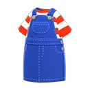 Robe salopette - Meubles Animal Crossing New Horizons