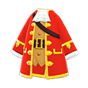 Manteau de pirate - Meubles Animal Crossing New Horizons